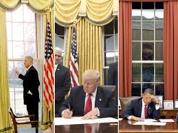 Behind Presidential Curtains Donald Trump Chooses Same Curtains For Oval Office As Hillary