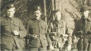 world war one at home the first soldier to be killed after the