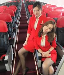 airasia uniform nancy drews of the air these two air asia stewardesses worked out