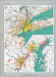 Newark Zip Code Map by The National Atlas Of The United States Of America Perry