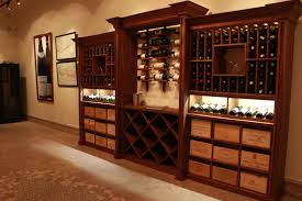 Walnut Wine Cabinet Rosehill Builds Custom Walnut Racking Cabinet For Iron Gate Wine