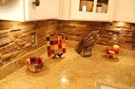 Emejing Stone Backsplash Tile Contemporary Home Design Ideas - Backsplash stone tile
