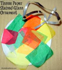 craft stained glass ornament