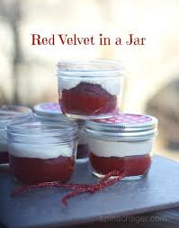 red velvet in a jar how to bake and freeze cake in jars red