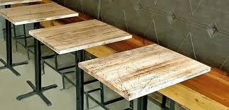 reclaimed wood restaurant table tops restaurant table tops restaurant table top contemporary table tops