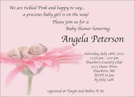 Baby Invitation Card Design Template Baby Shower Invitations Card For Girls