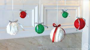 fancy fabric hanging ornaments the scrap shoppe