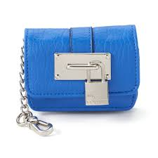 Juicy Couture Home Decor Couture Lock Pouch Key Chain