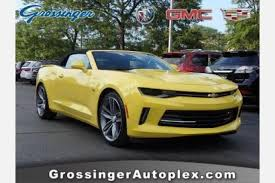 yellow chevy camaro for sale used 2017 chevrolet camaro for sale in chicago il edmunds