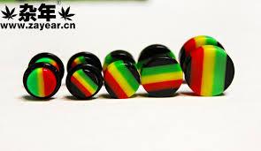 reggae earrings reggae hiphop hip hop reggae rasta stud earring 1 in stud earrings
