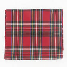 stewart royal rectangular plaid tablecloth 147x178cm
