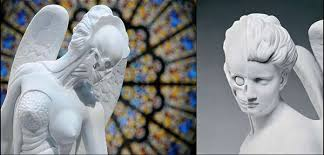 Angel Sculptures Skin Peeled Sculptures Anatomy Of An Angel
