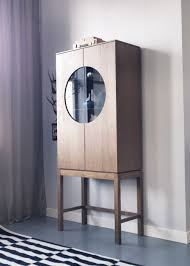 Ikea Stockholm Glass Door Cabinet The Timeless Ikea Stockholm Glass Door Cabinet Has Adjustable
