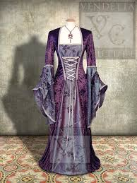 lily 026 medieval style dress