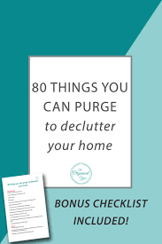Decluttering Your Home by 80 Things You Can Purge To Declutter Your Home Blog Home