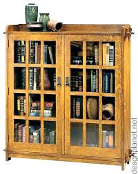 Oak Bookcases With Glass Doors Bookcases With Doors Oak Bookcases With Glass Doors Glass Bookcase