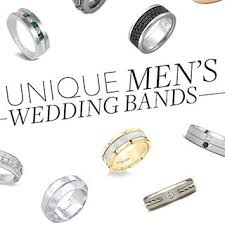 untraditional wedding bands unique men s wedding bands brides