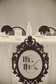 Mr And Mrs Wedding Signs Wedding Head Table Decorations Image Library