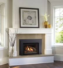 fireplace surround ideas modern cast concrete mantel stuning decor