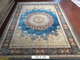 Chinese Aubusson Rugs Chinese Silk Rugs Handmade Silk Carpets Hand Knotted Silk Carpets