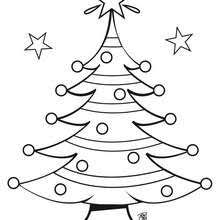 christmas tree u0027s wink coloring pages hellokids