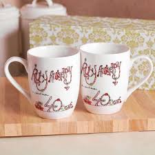40th anniversary plates 36 best 40th anniversary gifts personalized images on