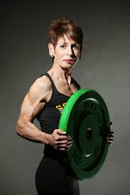 body builder and power lifter marina cornwall is 60 and stronger