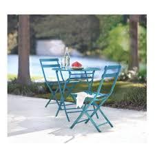 Patio Cafe Table And Chairs Home Decorators Collection Follie Peacock 3 Piece Patio Bistro Set