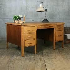 Large Vintage Oak Teachers Desk Desks Room Themes And