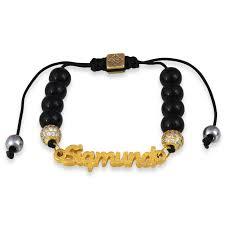 bracelet for the black agate shamballa word canterbury series