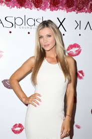 joanna krupa launch party for karina smirnoff make up collection