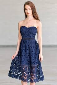 blue lace dress navy lace midi a line dress navy blue summer dress
