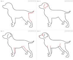 how draw a dog step by step how to sketch a dog step step sketch