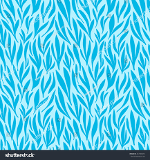 seamless blue leaf pattern background vector stock vector