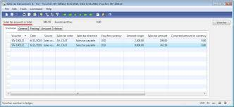 sales tax invoice sales order post an invoice in microsoft dynamics ax dynamics