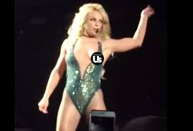 milf nip slip britney spears suffers a nip slip on stage at las vegas concert