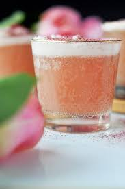 pomegranate martini pomegranate and rose water gin fizz little kitchen big world