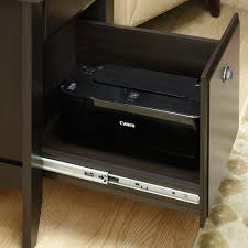 End Table With Charging Station by Sauder Shoal Creek Smartcenter Side Table 413087
