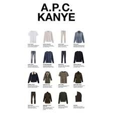 the full kanye x a p c fall winter 2014 collection has been
