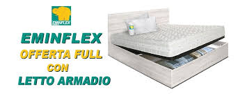 misure materasso eminflex eminflex offerta letto armadio eminflex
