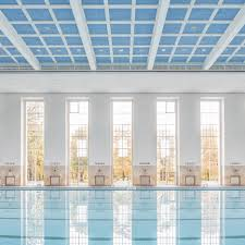architecture and design in berlin dezeen veauthier meyer architects renovates nazi era swimming pool hall in berlin