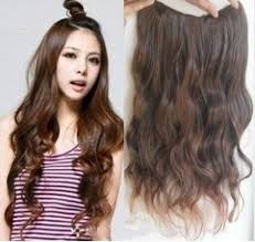 light brown curly hair 5 clip in curly hair extension 45cm 100g free shipping light brown