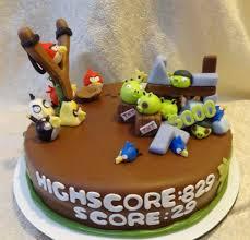 birthday cake angry bird decorating angry birds birthday cake