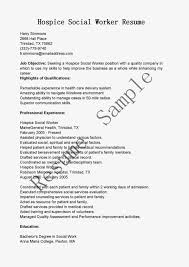 Job Resume Words by Hospice Social Worker Cover Letter
