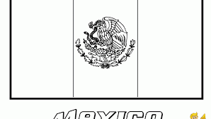 mexican coloring pages flag of mexico to color www bloomscenter com