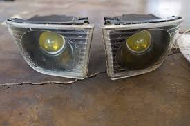 lexus yellow fog light capsule fs projector fog lights galore oem and aftermarket ballasts