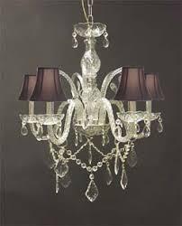 All Crystal Chandelier Murano Venetian Style Trimmed Chandelier Chandeliers Crystal