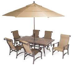 Modern Patio Dining Sets - furniture carlsbad sling aluminum patio furniture with patio