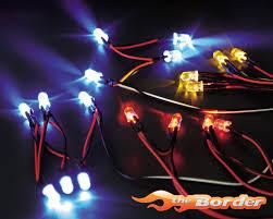 led lights for body shop killerbody led light system w control box 12 led s for 1 10 car
