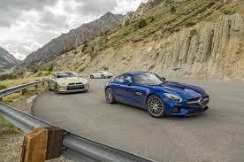 porsche 911 turbo 80s mercedes amg gt s vs porsche 911 turbo s vs nissan gt r 45th